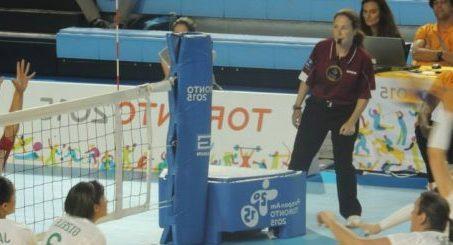 Marie-Claude Richer aux jeux Parapan Am de Toronto en 2015
